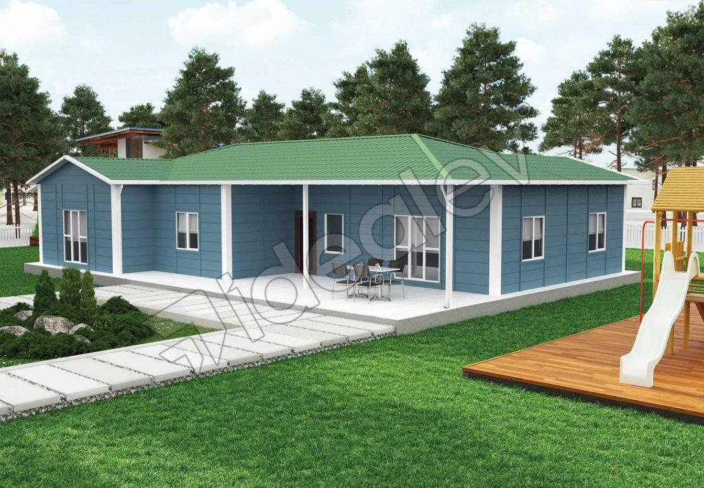 Casa fara etaj prefabricata
